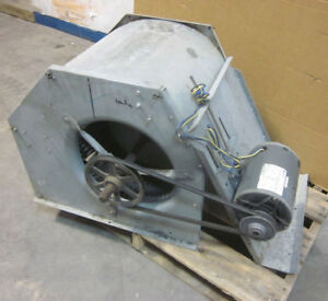 Ge 2 4 hp 3 ph Squirrel Cage Blower Exhaust Fan 56y Thermally Protected 1725 Rpm