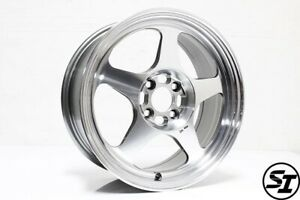 Rota Slipstream Wheels 16x7 40 4x100 67 1 Hb Polish Honda Civic Xa Xb Rims