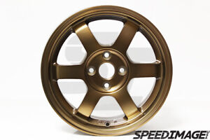 Rota Wheels Grid 15x6 5 38 4x100 Sport Bronze Fit Civic Integra Miata Mini