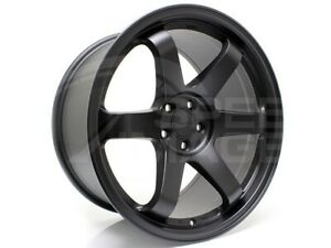 Rota Grid Wheels Flat Black 18x9 5 20 5x114 3 Fits Evo 8 9 X 240sx S14 350z G35