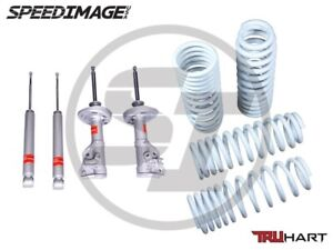 Truhart Sport Shocks And Lowering Springs Set For Honda Accord 2013 2016