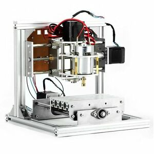Cnc Router Machine 3 Axis Diy Cnc Engraving Machine Pcb Milling Machine