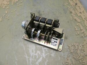 Industrial Timer Corp Rc 1 Adjustable Cam Sequencer 20w 2 j 5