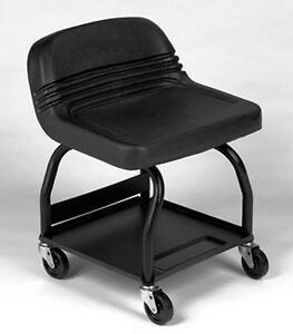 Whiteside Manufacturing 48003 Heavy Duty Padded Shop Seat Model Model Hrs