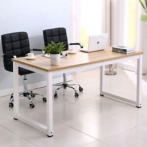 43 Computer Office Desk Pc Laptop Table Study Work station Home Furniture