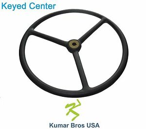 New Steering Wheel For Ford Tractor 2n 9n 2n3600 E0nn3600aa pvc Coated
