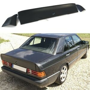 Mercedes benz W201 190 Amg Style Boot Tail Trunk Spoiler Wing Ducktail Lip Sedan