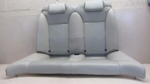 04 10 Saab 9 3 93 Convertible Seat Assembly Leather Upper Lower Rear