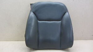 04 10 Saab 9 3 93 Convertible Upper Seat Skin Leather Passenger Front Right 1015