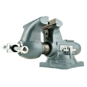 Wilton 63201 Tradesman Bench Vise 6 1 2 Jaw Width 6 1 2 Jaw Made In Usa
