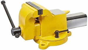 New Yost Vises 904 hv 4 High visibility Heavy Duty Steel Bench Vise Hand Tools