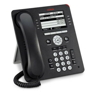 Avaya 9608 Text Ip Telephone Black Poe 700480585 Refrb Wrnty