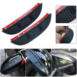 Car Rear View Mirror Rainproof Cover Shade 3d Design For Ford Focus 2012 2016