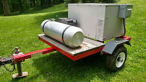 Generator Trailer Mounted Rv