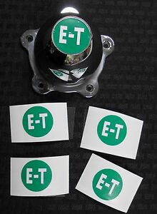 E T Drag American Racing Torque Thrust Wheels Center Cap Decals Gasser Rims Gto