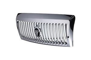 2006 2011 Mercury Grand Marquis Chrome Front Radiator Grille With Emblem Oem New