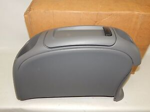 New Oem 1999 2002 Ford Windstar Mercury Villager Center Console Storage Gray