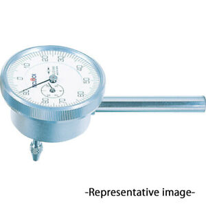 Teclock Back Plunger Dial Indicator With Arm 0 To 5mm Narrow Space St 305a Japan