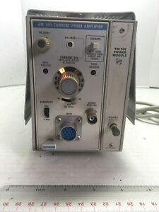 Tektronix Inc Current Probe Amplifier Am 503 Current Probe Amplifier