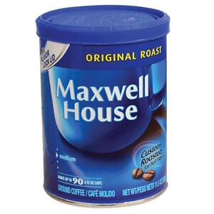 Maxwell Coffee Diversion Hidden Safe Secret Stash Box Home Security Container
