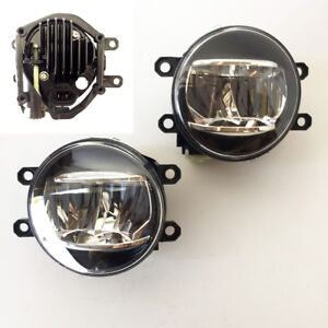 Fog Driving Light Kit Built in Led For 2010 2016 Lexus Rx350 Rx450h With Wiring