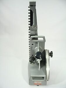 Starrett Webber Optical Height Gauge Inspection Gage Model 625 Metric Leitz