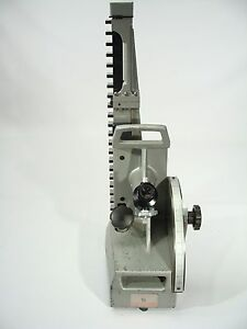 Starrett Webber Optical Height Gauge Inspection Gage Model 25 Leitz Optics