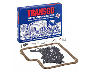 Transgo Ford C 6 Transmission Reprogramming Kit 1967 on 67 1 2