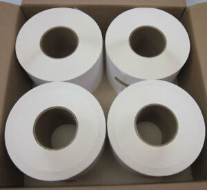 New Lot 4 Pol 5x4 300 5 X 4 Thermal Roll Label 3 core White 1500 roll