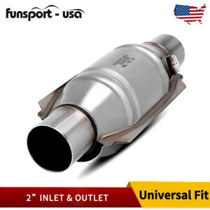 2 Universal Catalytic Converter Eco Ii 2inch Pipe 13 Body 99204hm Standard Cat