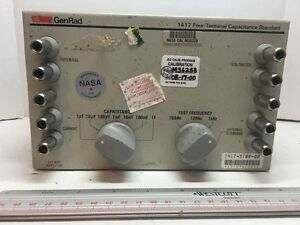 General Radio Company 4 terminal High Capacity Standard 1417