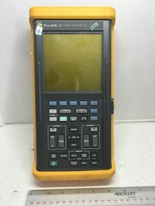 Fluke Corporation Scopemeter Dual Channel 50mhz Handheld Oscilloscope Fluke97