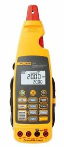 New Fluke 773 Advanced Milliamp Process Clamp meter 100ma Dc 0 01ma Resolution