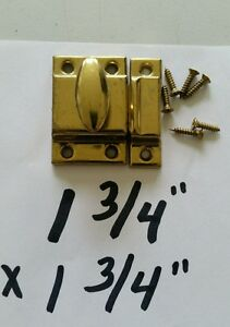 Vintage Old Cabinet Latch Lock With Screws Never Used G