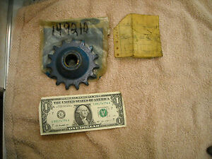 Nos Ford New Holland 149210 Chain Idler Sprocket For 250 Series Hay Baler
