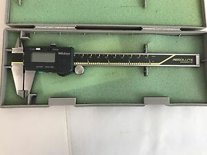 Mitutoyo Absolute Digimatic 6 Inch Digital Caliper