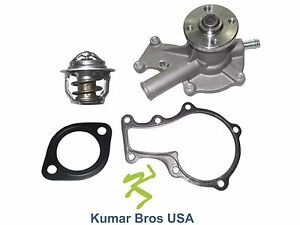 New Kubota Gr2100 Gr2120 Gr2120b Water Pump With Thermostat