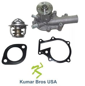 New Kubota Water Rtv x1120dr Rtv x1120dw Water Pump With Thermostat