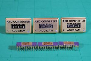 Burr Brown A d Converters Adc82am 3 Pcs Pmi Dac 05 3 Pcs