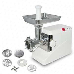 New 2000 Watt Electric Meat Grinder Butcher Sausage Maker 3 Cutting Blades