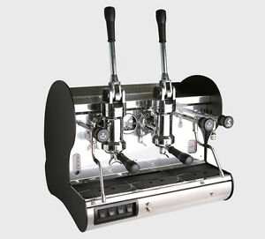 La Pavoni Commercial 2 Group Lever Espresso Machine Bar 2l Made In Italy 220v