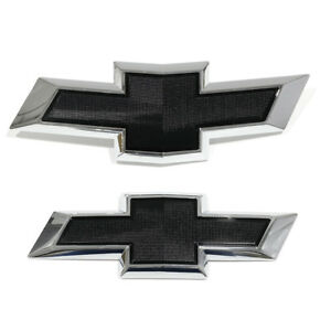 Oem New Front Rear Black Bowtie Emblem Package Chevrolet Equinox 23373665