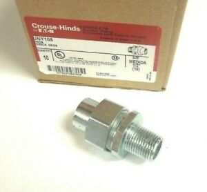 Crouse Hinds Uny105 1 2 Union Male Npt X Female Npt Explosion Proof 906mmz