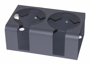 Tuffy Drink Holder Charcoal Double