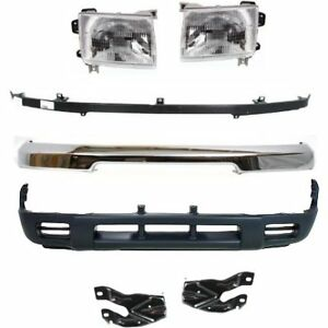 Front New Auto Body Repair Kit For Nissan Frontier 1998 2000