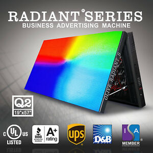 Olive Led Sign Radiant s P10mm Hd Full Color Emc Display Advertising Machine