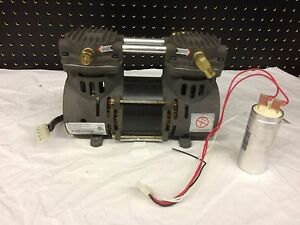 Used Tested Devilbiss Air Compressor Zw280d2 75 W Capacitor 525dz 541