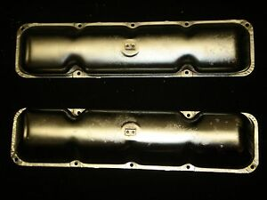 Amc Chrome Valve Covers Amx Javelin Rambler Rebel Machine 290 304 343 360 390