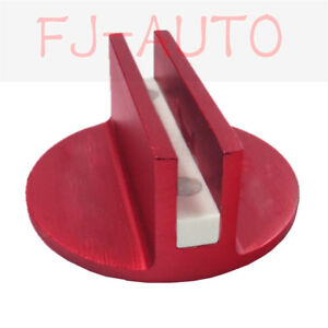 Red High Strength Slotted Magnetic Jack Pad Pinch Weld Frame Rail Adapter