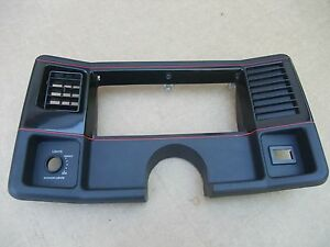 1986 1987 1988 Monte Carlo Ss Dash Gauge Panel Surround Parting Out Car Nice Oem